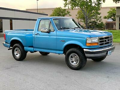 1992 Ford F-150 XLT FLARESIDE 4x4 SHORTBED PICKUP 1992 Ford f150 Flareside 4x4 !!.. only 68k Original miles... NO rust ! MUST SEE