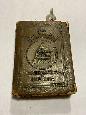 Book Bank - The Prudential Insurance Co. of America With Key!