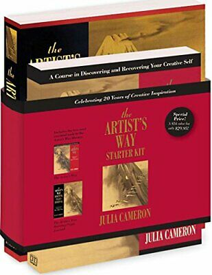 The Artist's Way Starter Kit by Julia Cameron Paperback NEW Book
