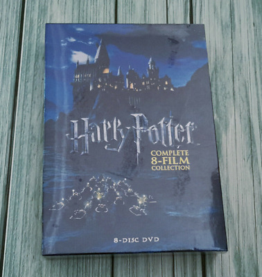 Harry Potter: Complete 8-Film Collection DVD (2011, 8-Disc Set) Brand New Sealed