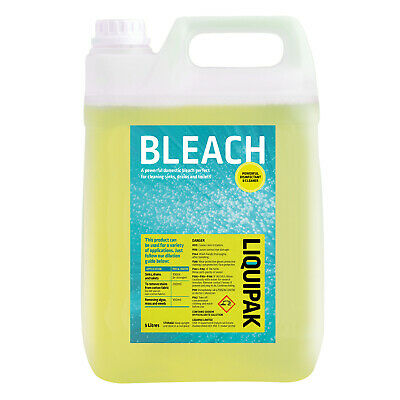 Professional Bleach Thick Yellow General Household Industrial Bleach 5L - 20L