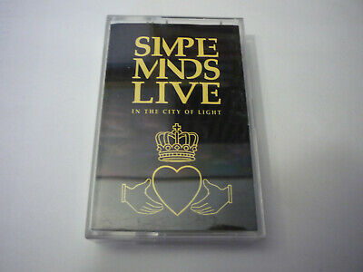 MC Musikkassette - Simple Minds Live