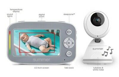 Summer Infant Baby Pixel Cadet Video Baby Monitor NEW FREE P&P