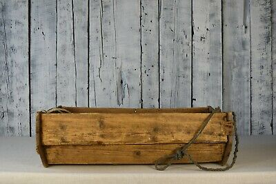 Vintage baby cradle / Wooden children's crib / Hanging baby cradle/ Rustic decor