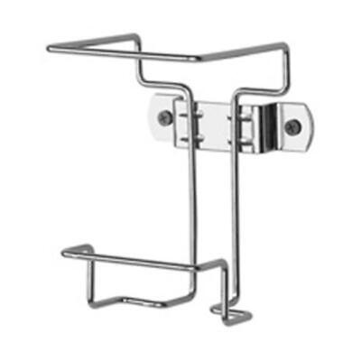 Wall Bracket for 2 Gal. Container Non-Locking Chrome