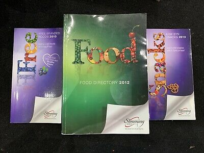 Slimming World Books - Food Directory, Free Branded Foods & Low Syn Snacks