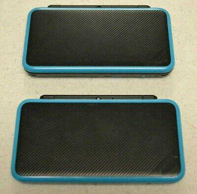 Nintendo 2DS XL Black and Turquoise For Parts Or Repair