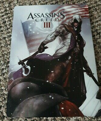 Assassin's Creed 3 Rare Limited Steelbook (No Game)