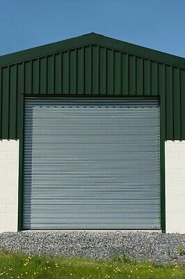 High Quality Galvanised Steel Electric Roller Shutters - Ready To Fit