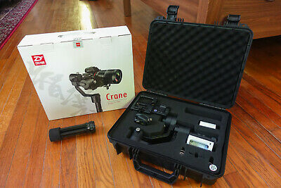 Zhiyun-Tech Crane 3-Axis Stabilizer With Tripod - Barely Used