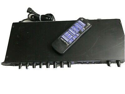 VocoPro DTX-5000G Karaoke Mixer Decoder Key Changer Vocal Eliminator Rack Mount