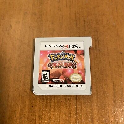 Pokemon Omega Ruby (Nintendo 3DS, 2014) Game Only Tested Working Authentic