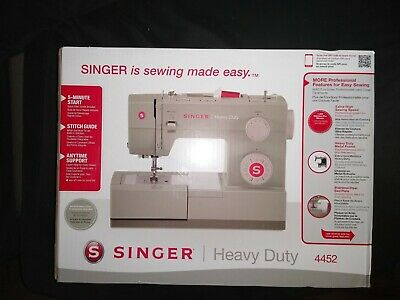 Singer 4452 Heavy Duty Electric Sewing Machine NEW IN HAND FREE SHIPPING