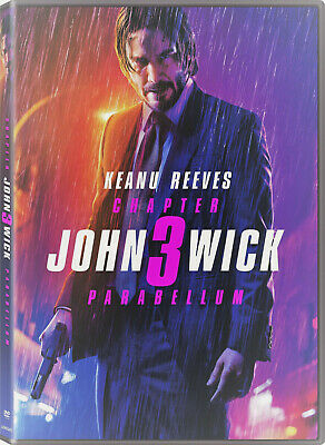 John Wick: Chapter 3 Parabellum DVD - New and Unopened!