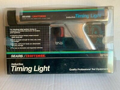 CRAFTSMAN SEARS INDUCTIVE TIMING LIGHT 92134 Model 161.2134