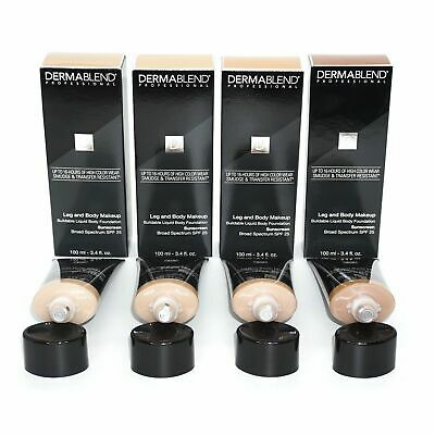 Dermablend Leg and Body Makeup Liquid Body Foundation *~Choose Shade~* [Sealed]