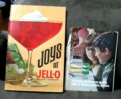"Vintage ""Joys of Jell-O"" Gelatin Dessert Recipe Book"" General Foods"