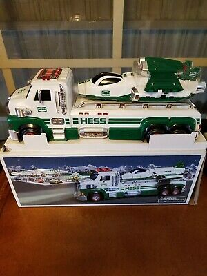 2014 Hess Toy Truck And Space Cruiser With Scout New In Box 50 Anniversary