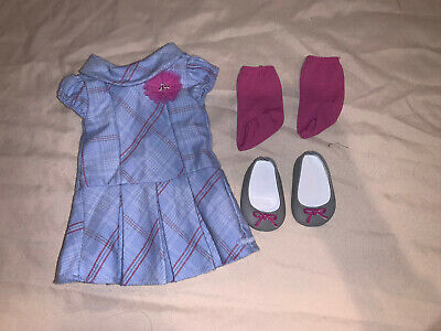 American Girl Doll Sweet School Dress Outfit