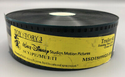 Toy Story 3 35mm Movie Film Trailer Preview Teaser Disney