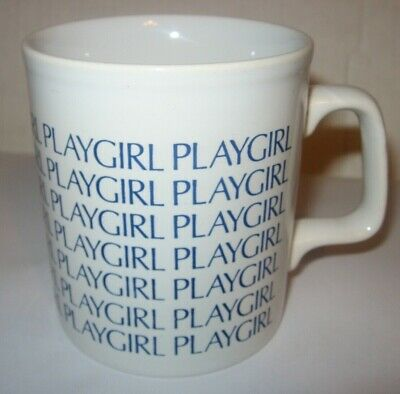 RARE Vintage Playgirl Magazine Promotional Coffee Mug / Cup Made in England