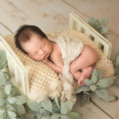 MIni Newborn Baby Photography Modeling Bed Background Frame Stand Posing Props