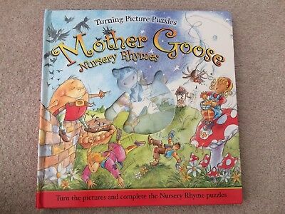Mother Goose Nursery Rhymes Turning Picture Puzzles + 3 Yrs