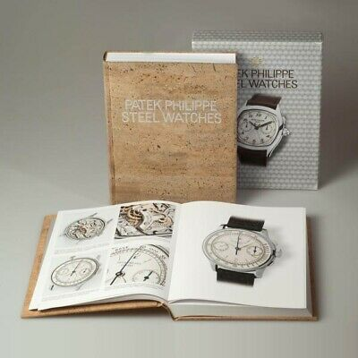 Patek Philippe Steel Watches - Book Limited Edition By Goldberger - New