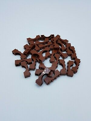 Lego Lot 30 X Brique 1X4 With Bow  Reddish Brown Ref 3659 / 6177697 *Neuf*