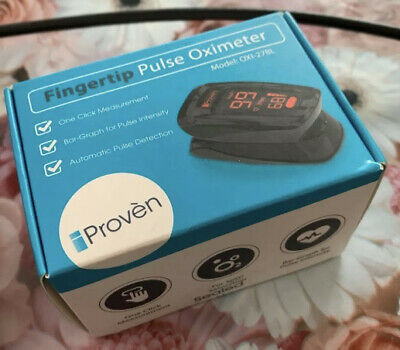 Iproven Fingertip Pulse Oximeter Brand New
