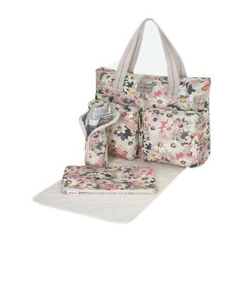 Cath Kidston Painted Daisy Printed Everyday Changing Bag Used In Good Condition