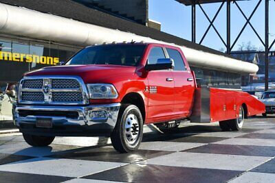 2014 Chassis 3500 Laramie 2014 Ram Car Hauler, Cummins, Hodges Bed, Loaded Every Option, Ready to go!