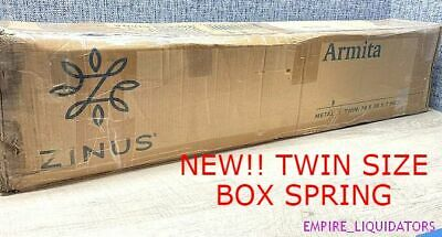 """Boxed - 7"""" Zinus Armita Twin Size Steel Structure Box Spring Frame - Unused"""