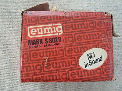 Eumig Mark S 802 D sound projector for all 8mm gauges