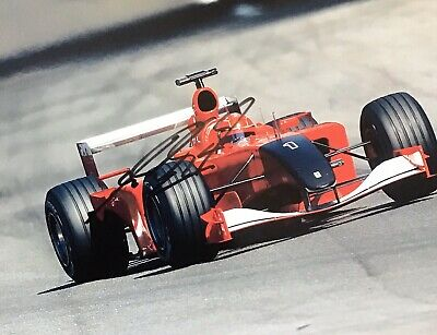 MICHAEL SCHUMACHER AUTHENTIC SIGNED  F1 10x8 PHOTO AFTAL#198