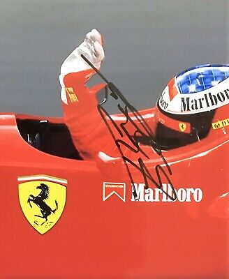 MICHAEL SCHUMACHER AUTHENTIC SIGNED  F1 7x8 PHOTO AFTAL#198