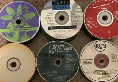 CD Music 100 Lot Disc Only Various Artists and Condition Bulk Re-Sell