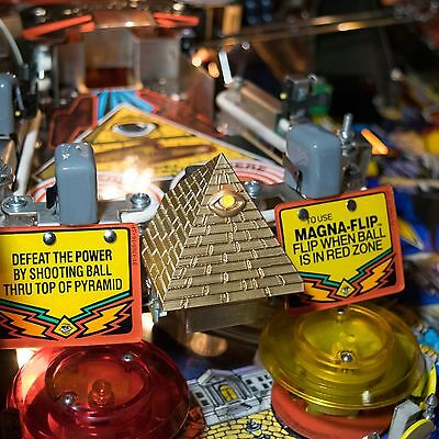 """Twilight Zone Pinball Mod """"The Power"""" Pyramid Mod by Just 3D Mods"""