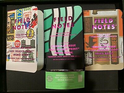 Field Notes Deader Prints Unsealed 3 Pack