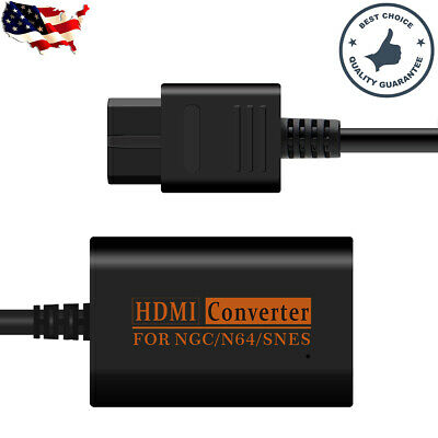 1080P HDMI Adapter Converter HD Cable for Nintendo 64/SNES/NGC Gamecube Console