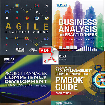 PMBOK PMI Guide 6th 2018 +Agile Practice Guide +Project Manager +Business Analys