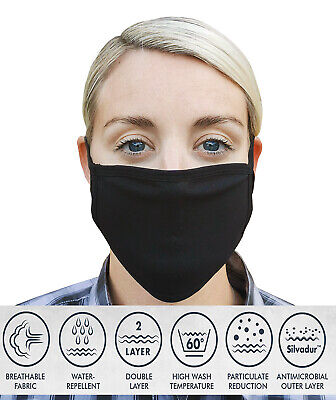 Face Mask Protective Covering Cotton Washable & re-useable, comfort fit,cycling