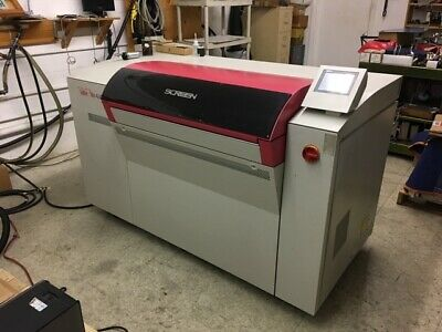 Screen PT-R4100 Thermal CTP Platesetter( Only 57K plates ) Screen Rip/computer