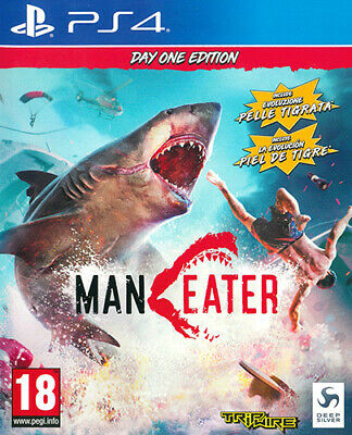 Maneater D1 Day One Edition PS4 Playstation 4 DEEP SILVER