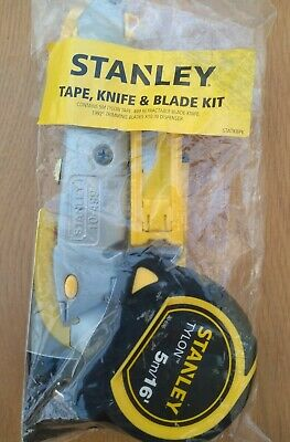Stanley Tape, And Blade Kit