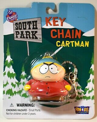 SOUTH PARK CARTMAN KEY CHAIN by FUN 4 ALL COMEDY CENTRAL from 1998 ~ EXCELLENT!