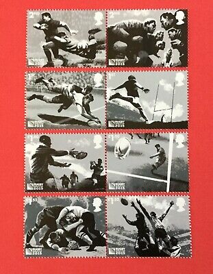 GB 2015 Rugby World Cup SET MNH /Unmounted Mint in Pairs