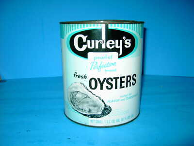 Old Curley's 1 Gal. Oyster Can