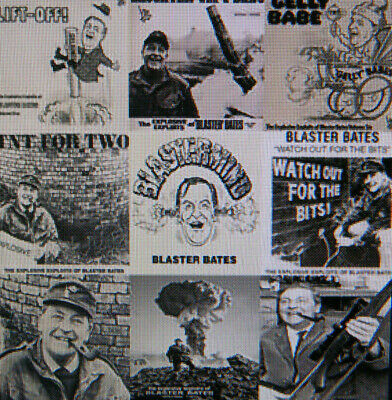 9 Albums of Blaster Bates Complete Audio Collection on 1 x MP3 CD Audio Comedy