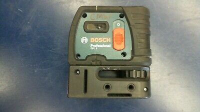 Bosch GPL 5 Self Leveling 5 Point Plumb & Square Point Laser *Glass Missing*